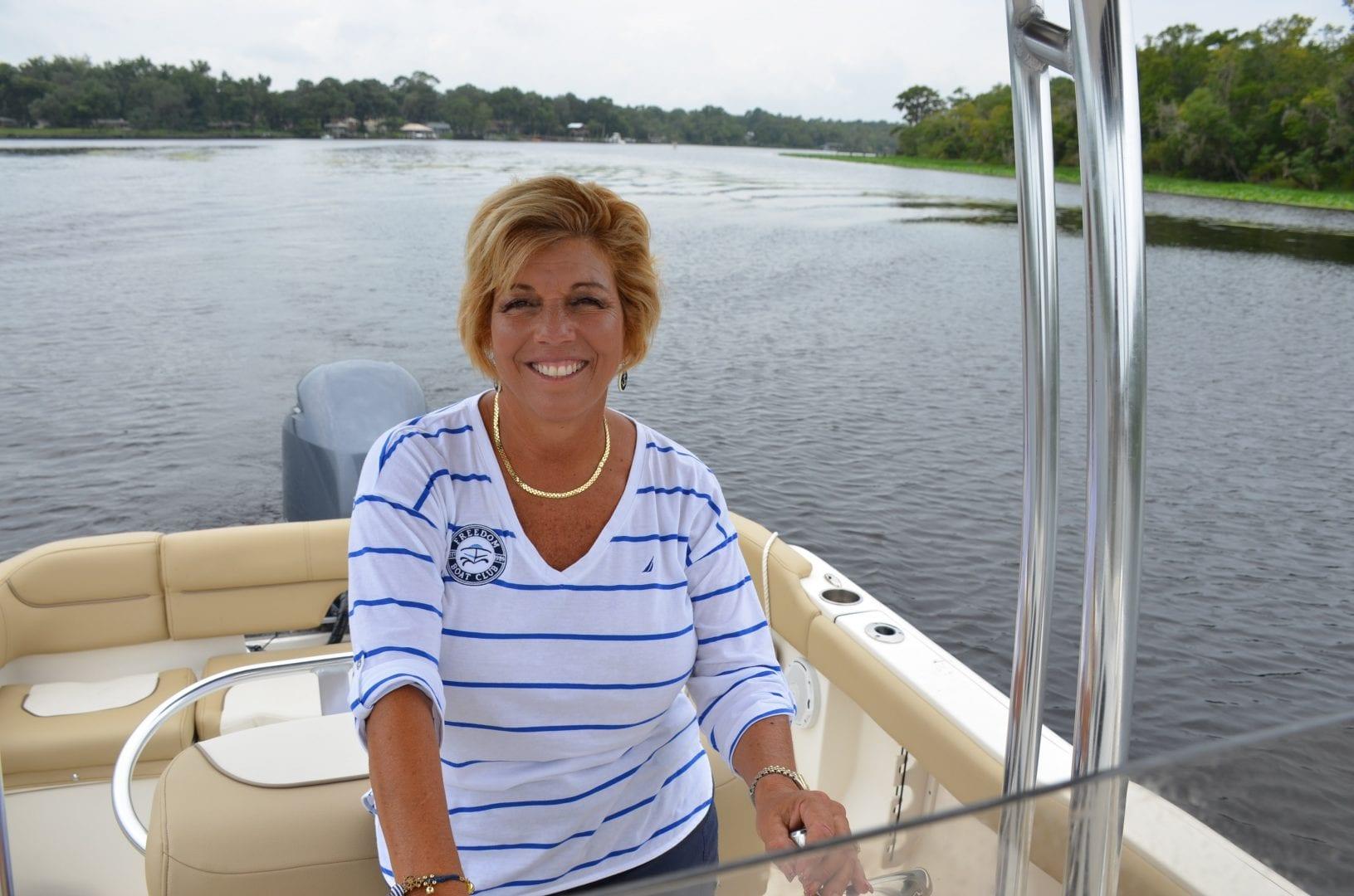 Q&A: Lisa Almeida, Freedom Boat Club - Lisa The Boatanista