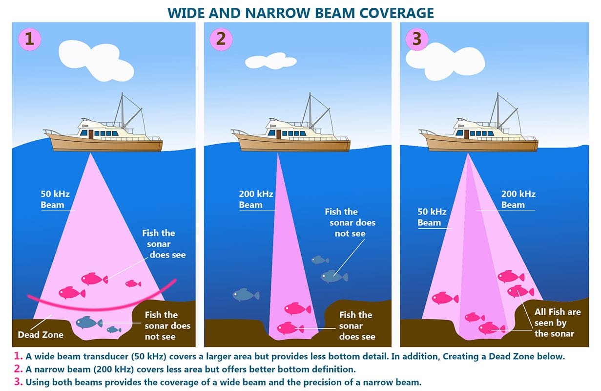 Wide and narrow beam coverage